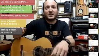 Como sacar canciones de oído (1) - por Jesús Amaya...