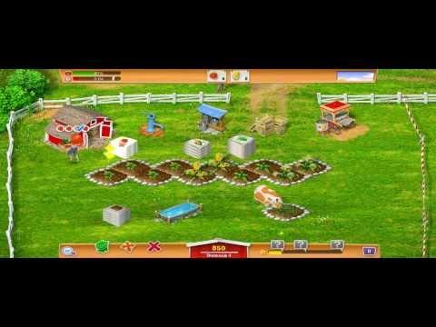 Видеообзор онлайн игры Деревенская ферма.