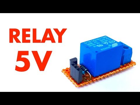 How To Make Arduino Relay Module 5V Using BC548