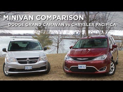 Minivan Comparison   Dodge Grand Caravan vs Chrysler Pacifica   Driving.ca