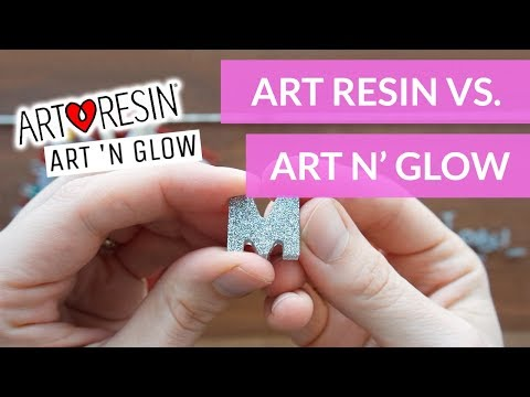 Art Resin vs Art N Glow - Testing out resins with silicone molds