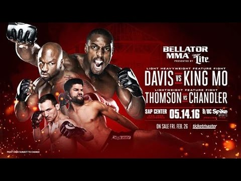"5 Reasons Bellator Fighter Muhammed ""King Mo"" Lawal Says He Will Beat Phil Davis"