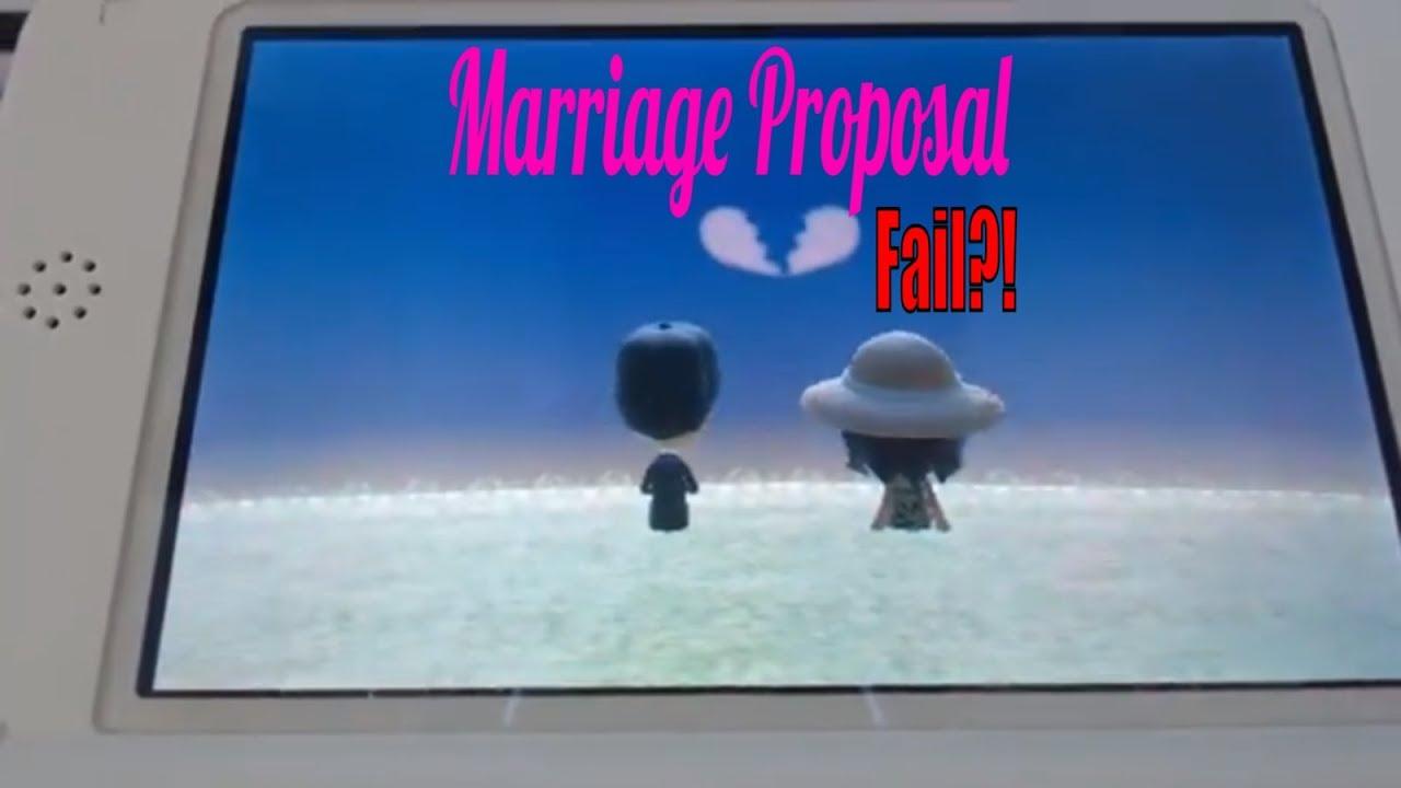 Cheats tomodachi life proposal The Marriage