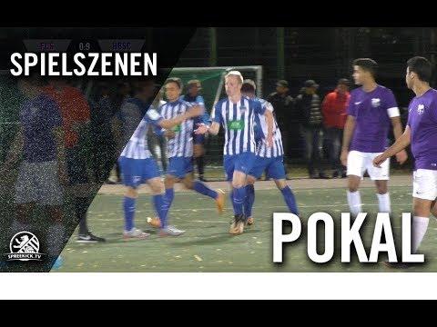 1. FC Schöneberg U19 – Hertha BSC U19 (1. Runde, Pokal)