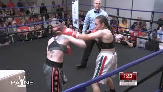 Christy Martin's Battle at the Beach II: Rebecca Cruz vs  Elizabeth Tuani
