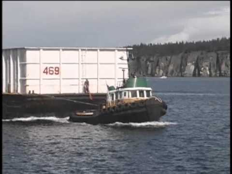 Tug & Barge Vancouver Island
