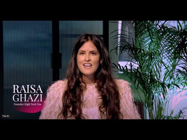High Tech Tea Interview Raisa Ghazi & Constantijn van Oranje:  Bias & Technology