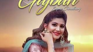 Gajban - Sapna Choudhary Latest New Punjabi Mp3 Songs 2019