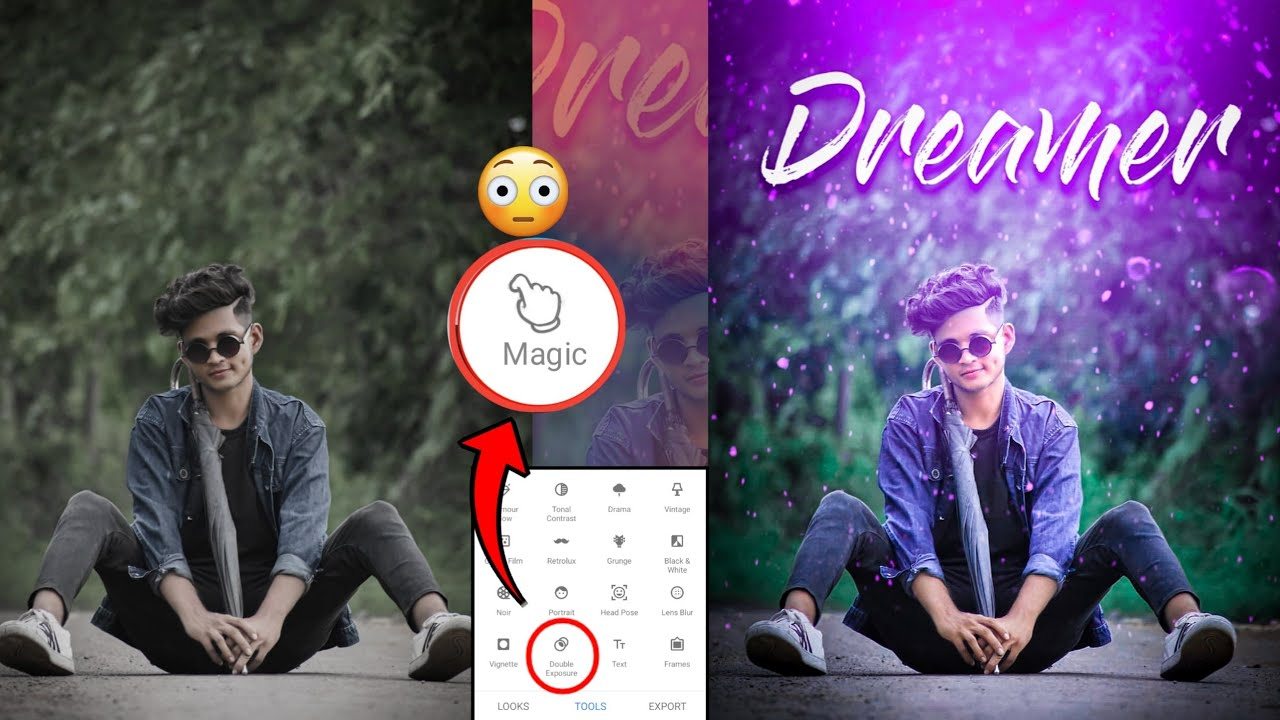 Snapseed Amazing Trick 😲 - Snapseed Photo Editing Trick // AF EDIT