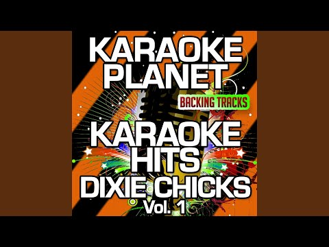 I'll Take Care Of You (Karaoke Version) (Originally Performed By Dixie Chicks)