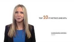 10 Essential IT Metrics and KPIs Overview