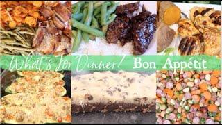 Bon Appétit What's For Dinner? Dinner Inspiration Family Friendly, Easy Meals! No Skill Involved!