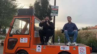 Kampánybeszélgetés a Széll Kálmán téren Mészáros Péterrel   2019.09.27.