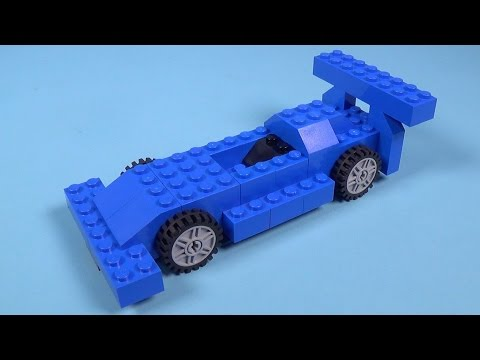How To Build Lego F1 Race Car 4630 Lego Build Play Box Building