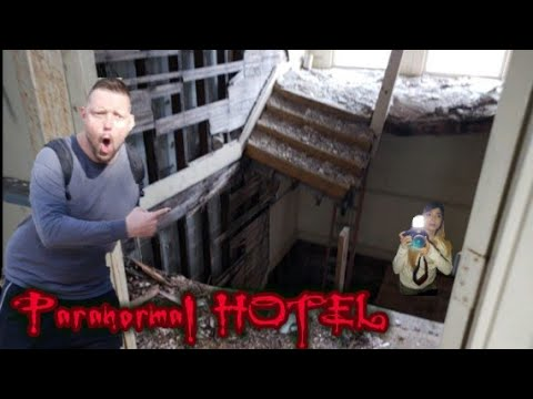 (CAUTION) Abandoned HOTEL has Paranormal Activity Occurring