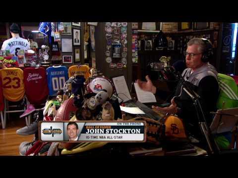 John Stockton on The Dan Patrick Show (Full Interview) 03/30/17