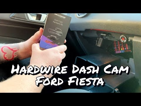 How To Wire Dash Cam Fiesta MK7.5