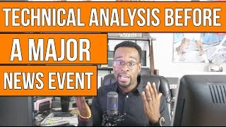 FOREX TRADING: Technical Analysis before a Major News Event