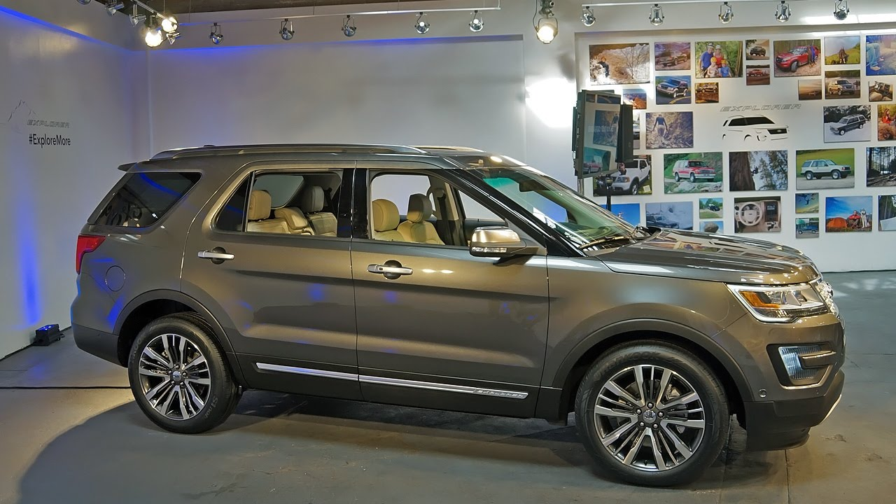 Ford Escape 2014 Custom >> 2016 ford explorer - YouTube