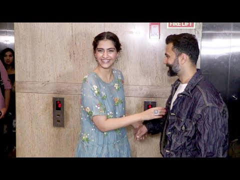 Sonam kapoor very funny moment with husband anand ahuja