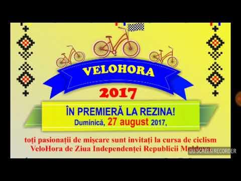 VeloHora la Rezina – Reportaj difuzat la Radio Moldova