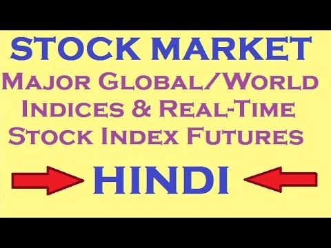 STOCK MARKET || Major Global/World Indices & Real-Time Stock Index Futures.