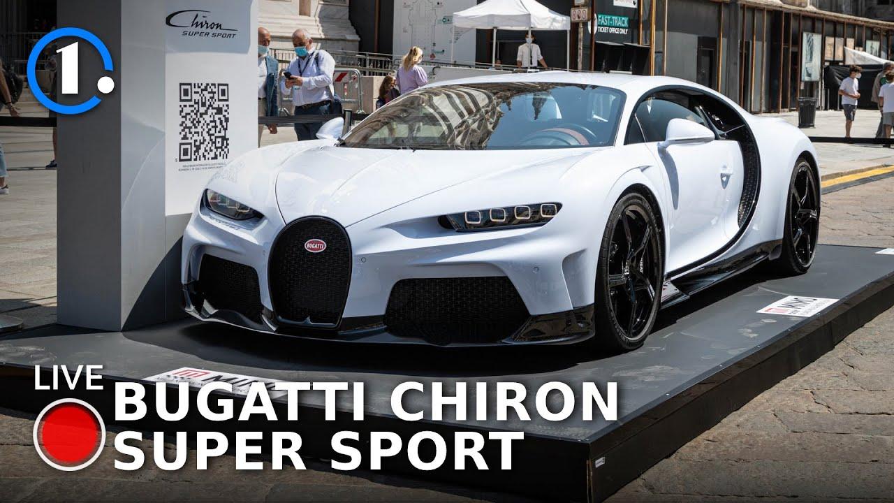 Bugatti Chiron SUPER SPORT, la più ESTREMA da 3,2 milioni di euro