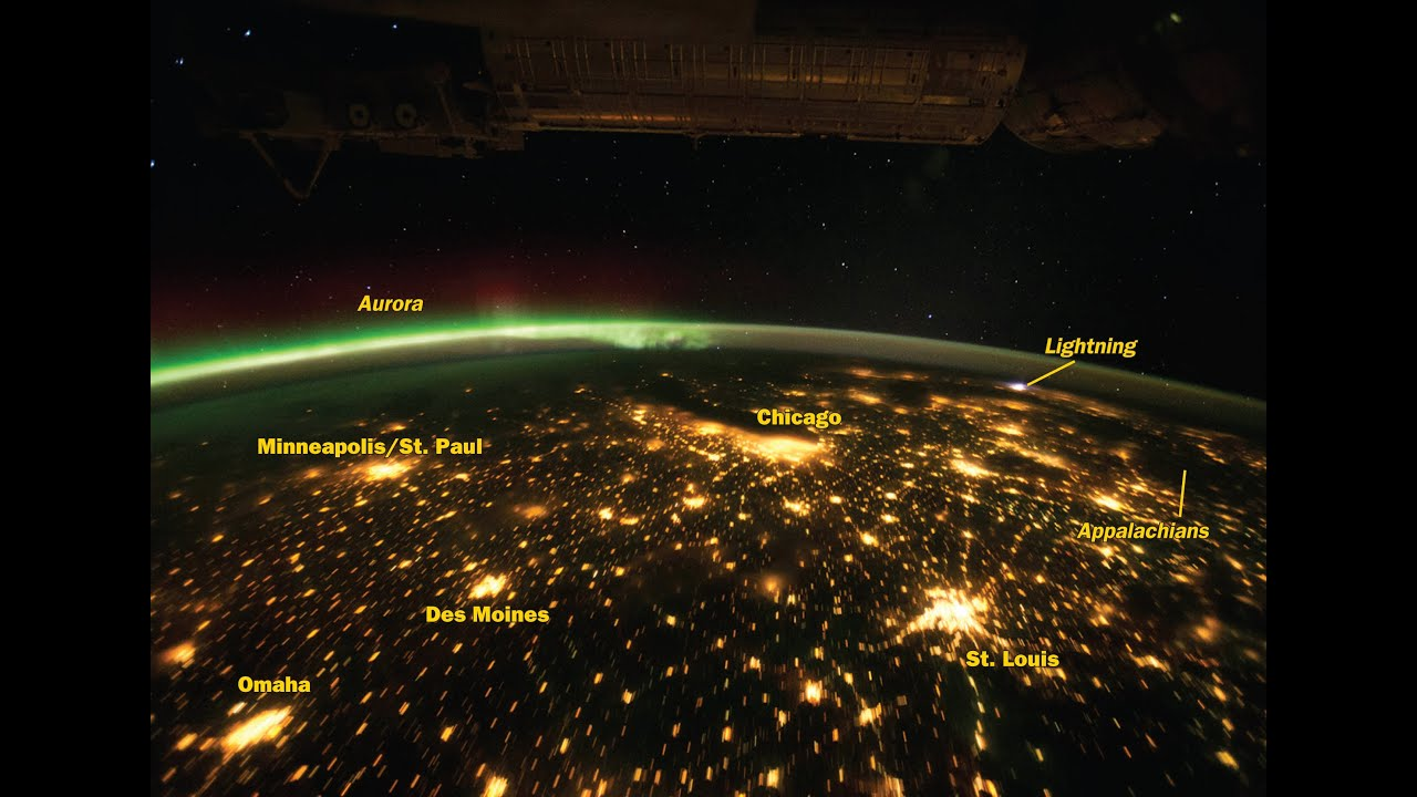 View Of Earth From Satellite Orbiting The Earth YouTube - Live earth view through satellite