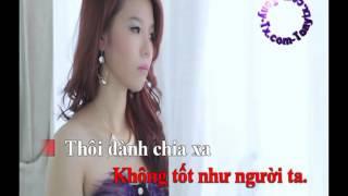 Karaoke Yêu Lầm Người Gian Dối Kim Ny Ngọc