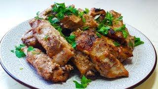 Свиные ребрышки в духовке / Ребрышки по-кавказски