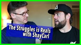 DISCUSSING ALCOHOLISM WITH SHAY CARL | The Struggles Is Reals Ep 9