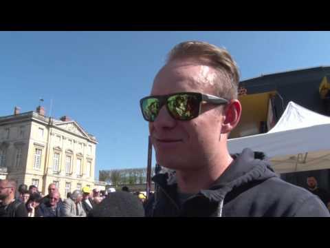 Alexander Kristoff - interview before the race - Paris-Roubaix 2017