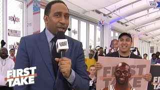 Stephen A.'s list: Top 5 dunk contest champions | First Take