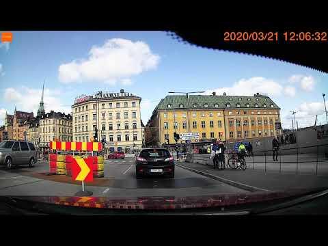 Driving in Stockholm Sweden March 2020 | Dashcam