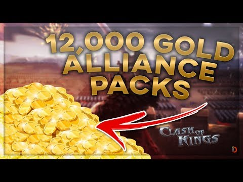 WIN K756 ALLIANCE GIFTS ARE ABSOLUTELY INSANE - CLASH OF KINGS