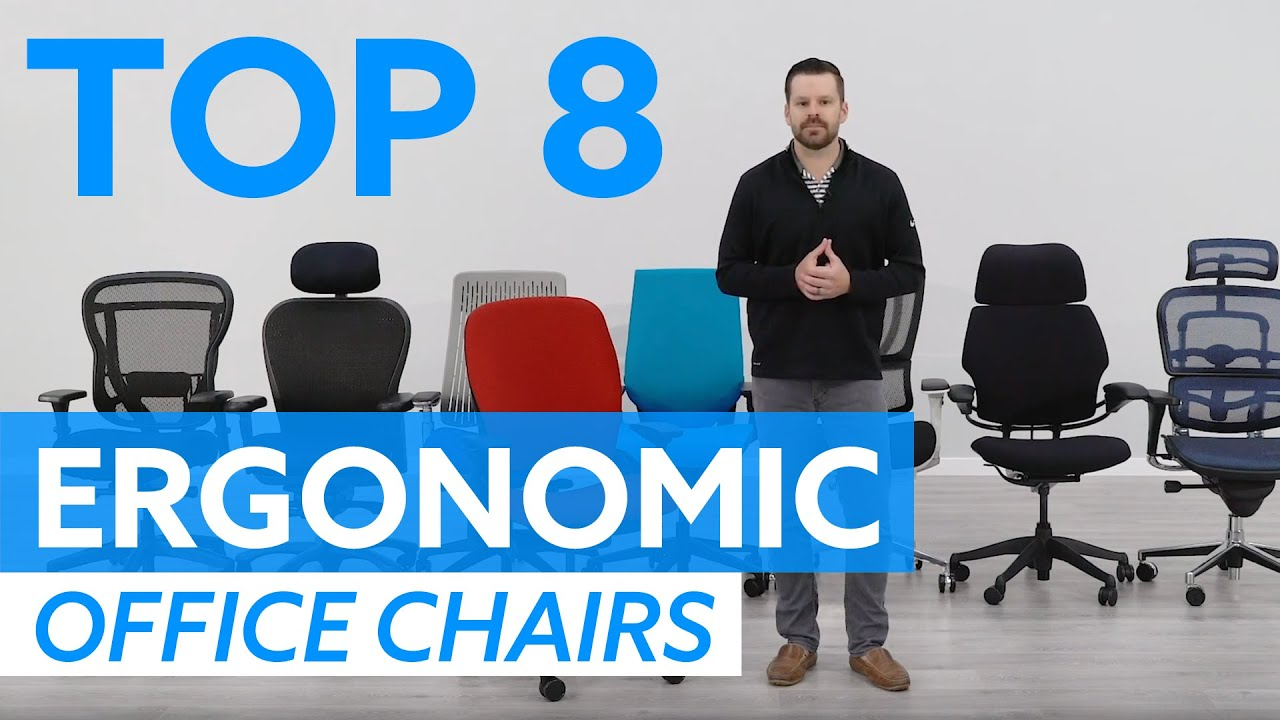 8 Best Ergonomic Office Chairs For 2019 Youtube