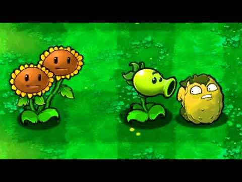 Plants vs. Zombies Wall-nut Gets Bitten
