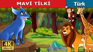 MAVİ TİLKİ   The Blue Fox in Turkish   Masal dinle   Türkçe peri masallar   Turkish Fairy Tales