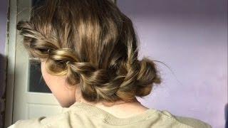 Коса с резинками