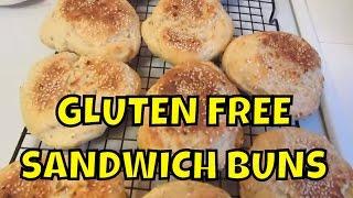 Gluten Free Sandwich Buns ~ Dinner Rolls