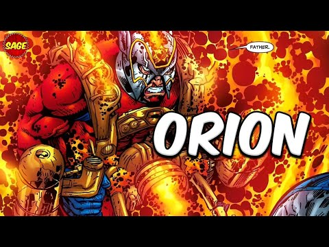 """Who is DC Comics' Orion? Darkseid's Son, The """"New god"""" of War. - New Sage"""