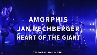 AMORPHIS Jan Rechberger Drumcam 'Heart of the Giant' / 7.12.2019 Helsinki Ice Hall