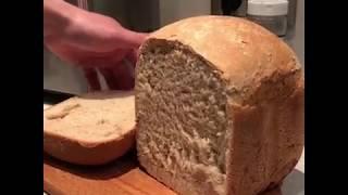 Готовлю ржаной хлеб по рецепту в хлебопечке GARLYN Home BR-1000.