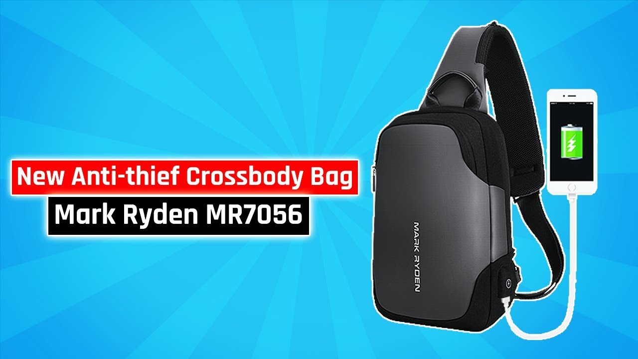 New Anti Thief Crossbody Bag Mark Ryden Mr7056 Best Product Tas Selempang Water Proof Smart