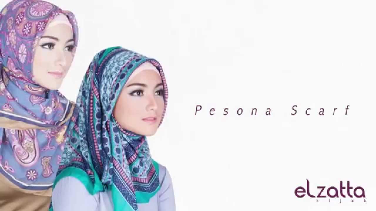 Pesona Scarf Elzatta Katalog 3 2013 YouTube