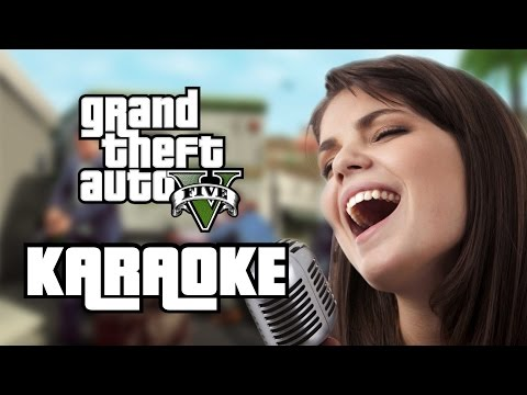 GTA V KARAOKE - EightBit Plays Grand Theft Auto V Online Multiplayer