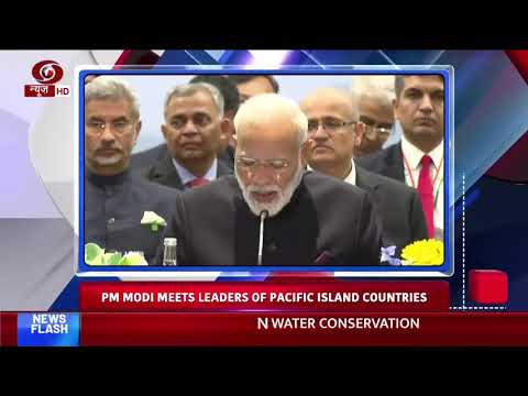 Headlines @ 8am | PM Modi meets leaders of Pacific Island Countries; other news