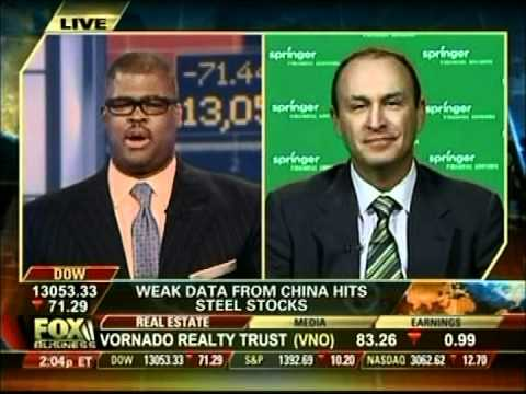 Keith Springer - Fox Business News - Dow 15,000