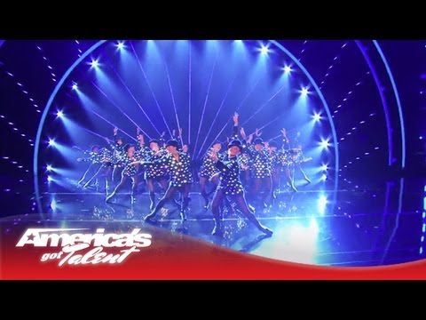 The Rockettes Perform a New Routine  Americas Got Talent 2013 Finale