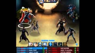 Marvel:Avengers Alliance - Vs TH Navapol (ฟ้าฝ่า เปรี้ยง !!!)